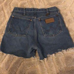 Wrangler Shorts - Wrangler Cut Off Shorts